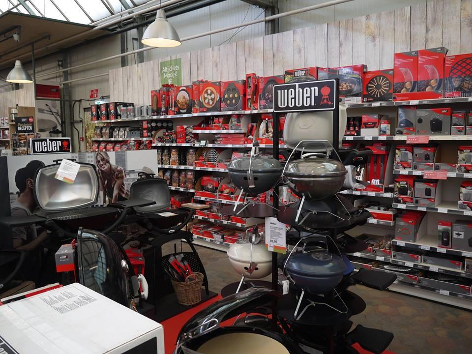 Tuincentrum de Mooij nabij Leiden: ook voor uw Weber BBQ