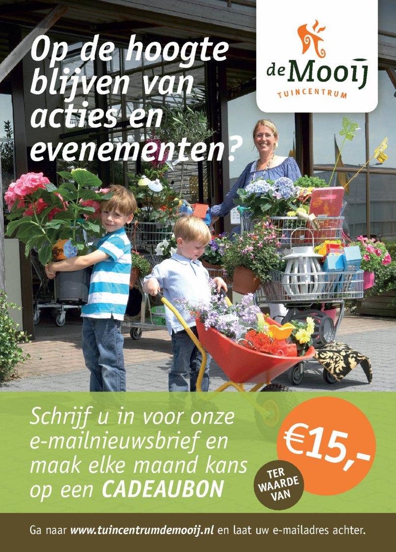 Tuincentrum De Mooij is het leukste tuincentrum van omgeving Leiden
